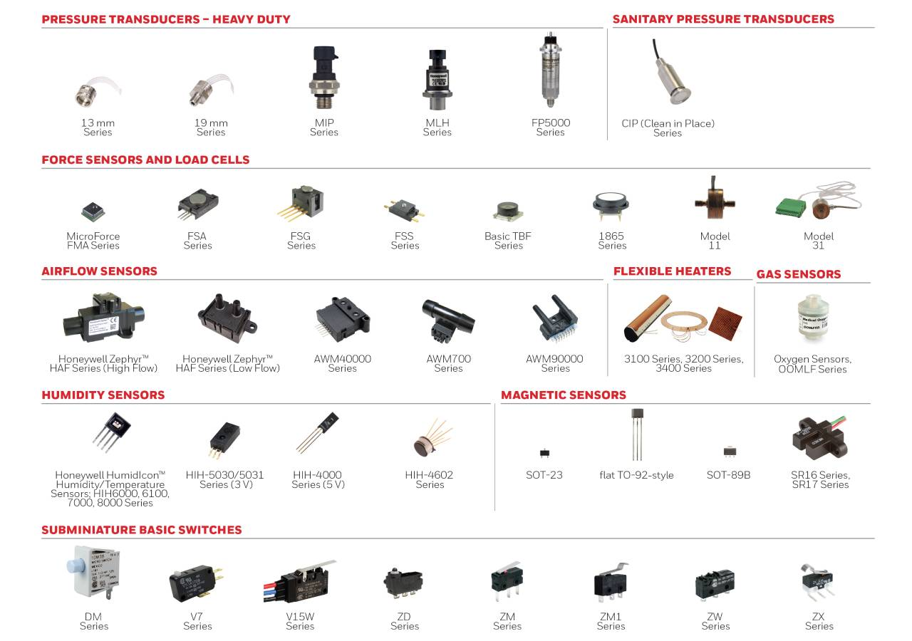 Medical sensors and switches