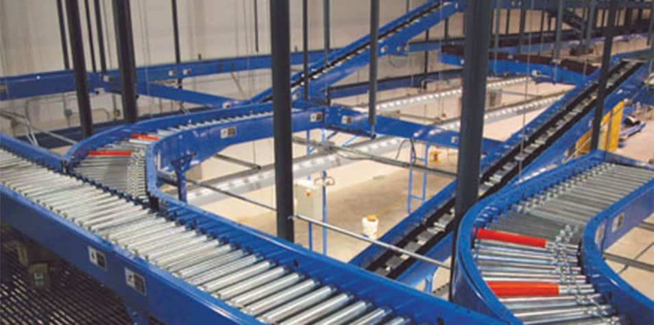 McKesson warehouse conveyor